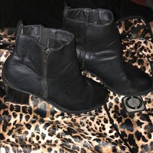 Black boots from torrid